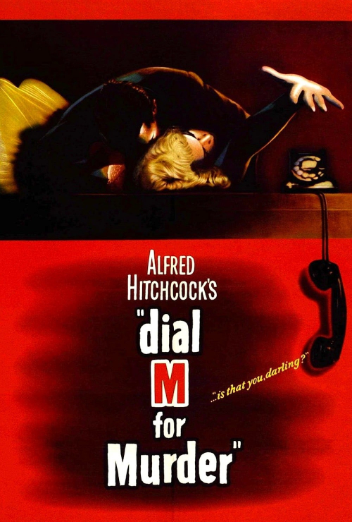 "Movie poster image for ""DIAL M FOR MURDER - Hitchcocktober"""