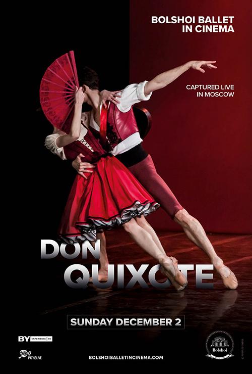 "Movie poster image for ""BOLSHOI BALLET: DON QUIXOTE"""