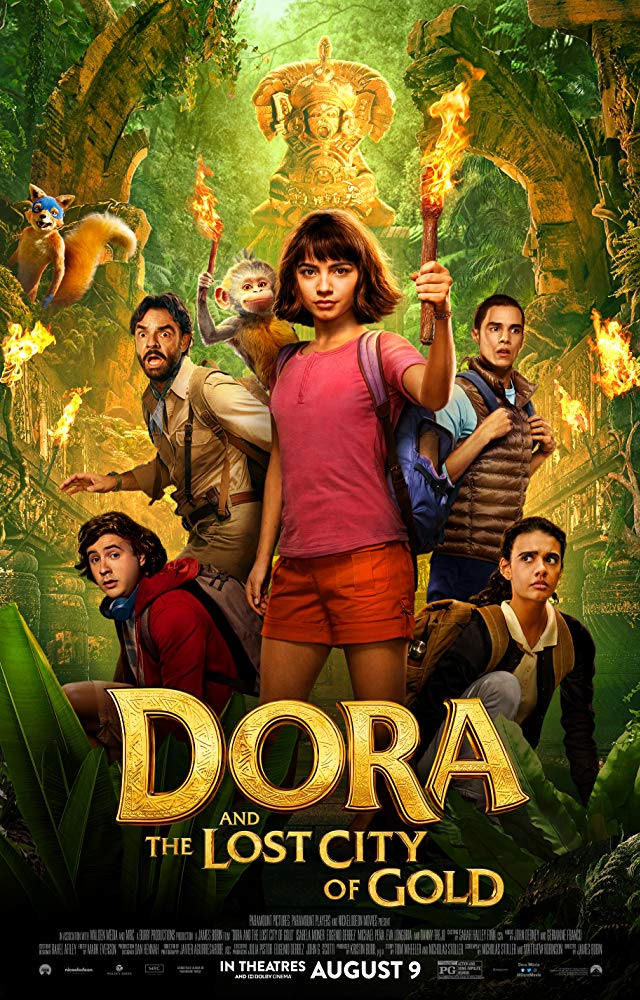 "Movie poster image for ""DORA AND THE LOST CITY OF GOLD"""