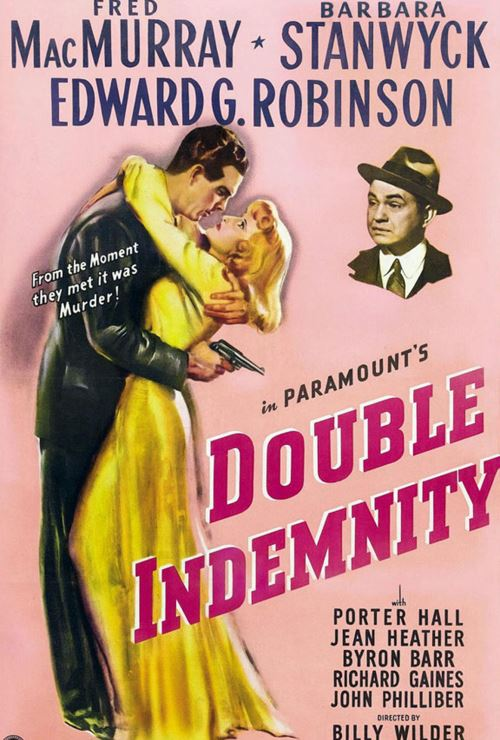 """Movie poster image for """"DOUBLE INDEMNITY"""""""