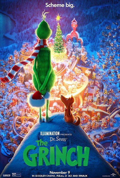 "Movie poster image for ""DR. SEUSS' THE GRINCH in IMAX"""