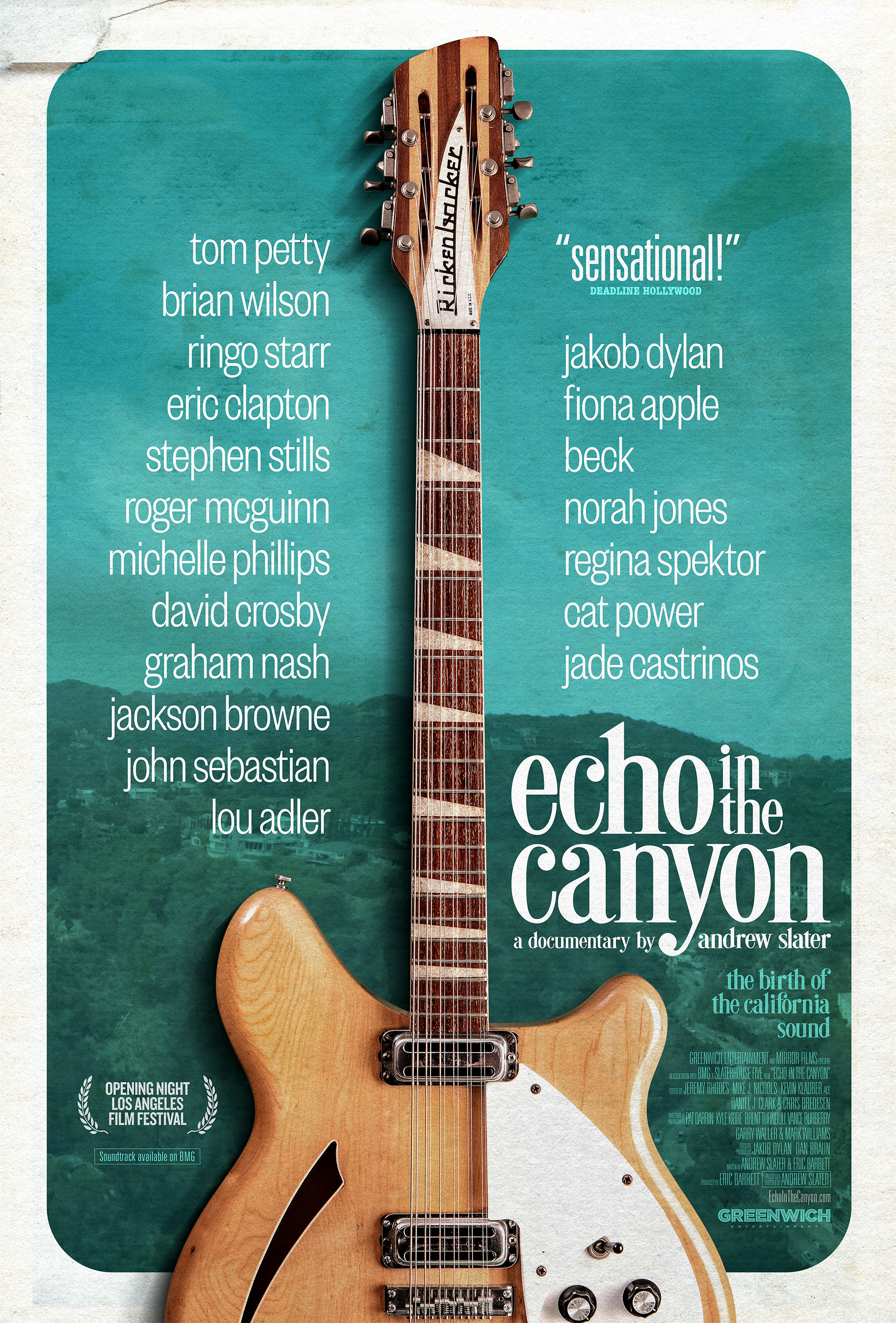 "Movie poster image for ""ECHO IN THE CANYON"""