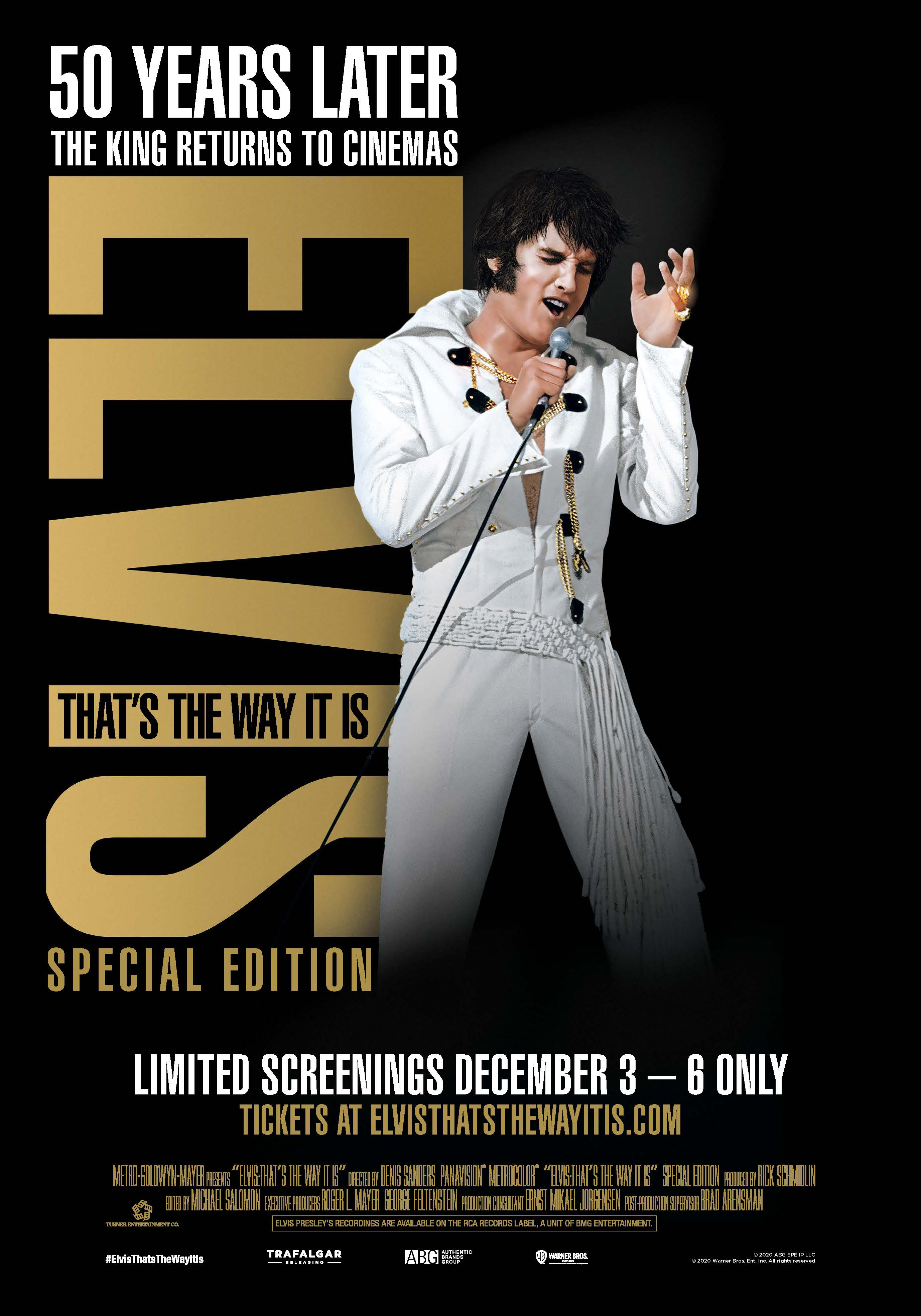 Movie poster image for ELVIS: THAT'S THE WAY IT IS – SPECIAL EDITION