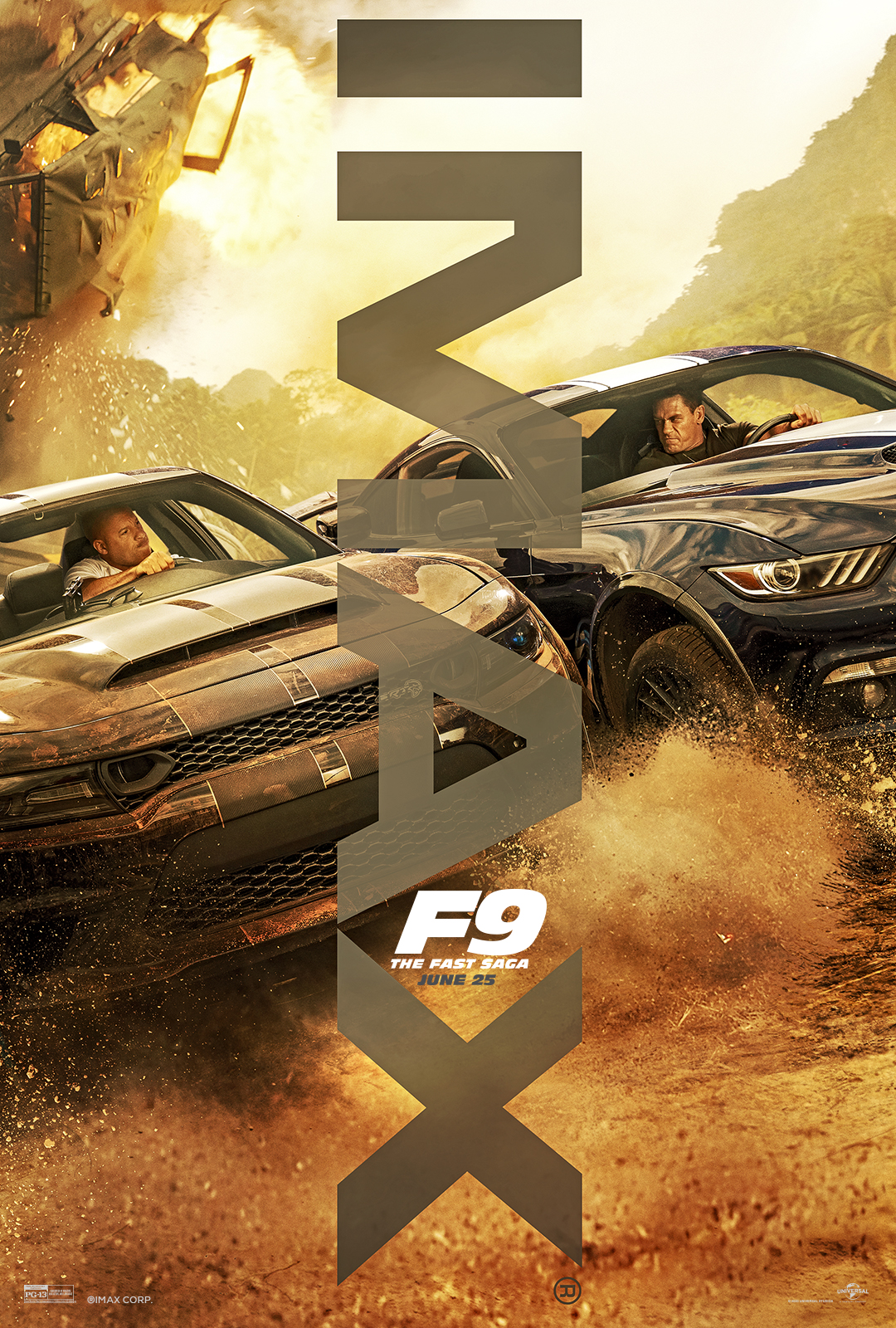 Movie poster image for F9 THE FAST SAGA in IMAX