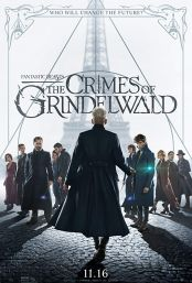 """Movie poster image for """"FANTASTIC BEASTS: THE CRIMES OF GRINDELWALD"""""""
