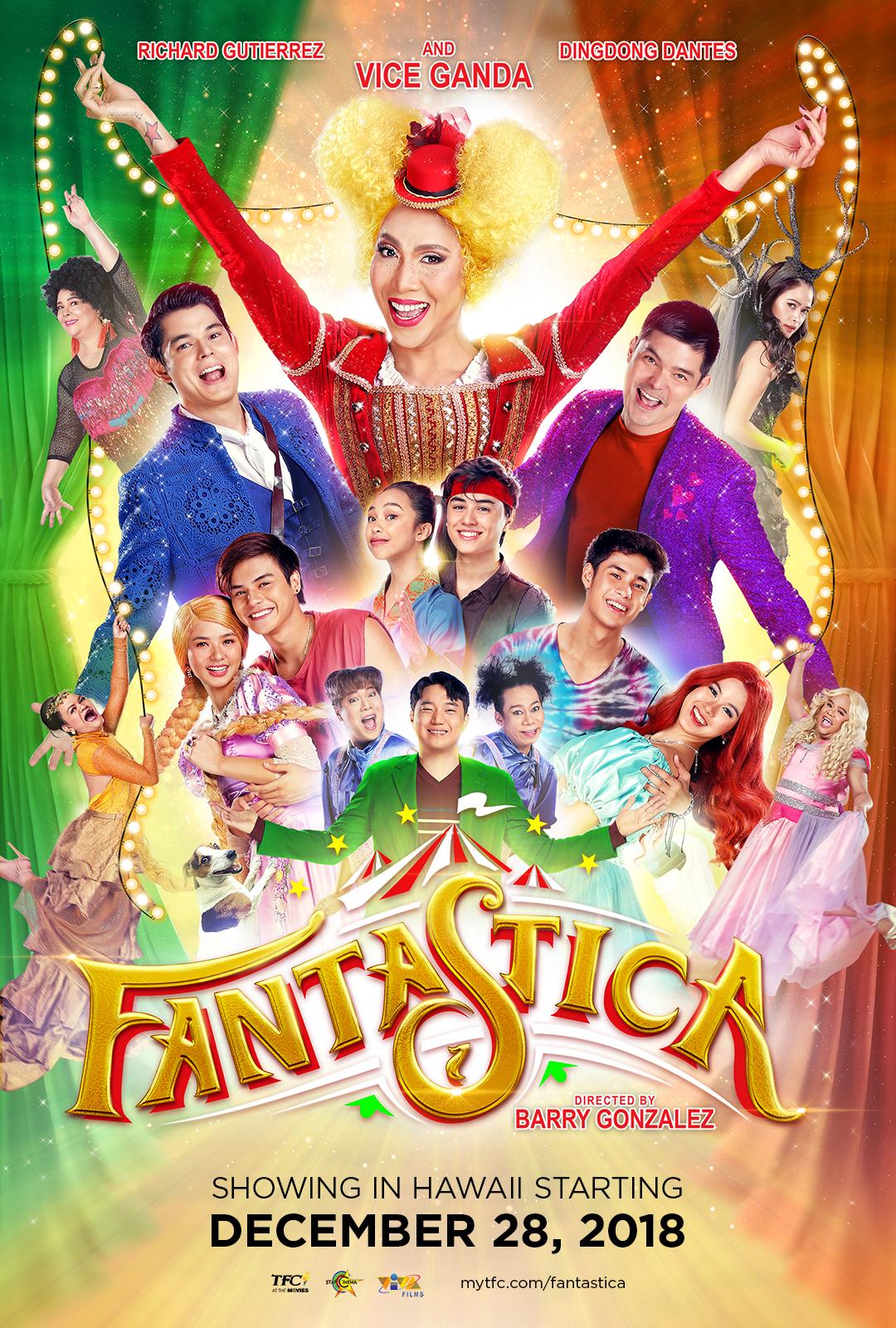 "Movie poster image for ""FANTASTICA"""