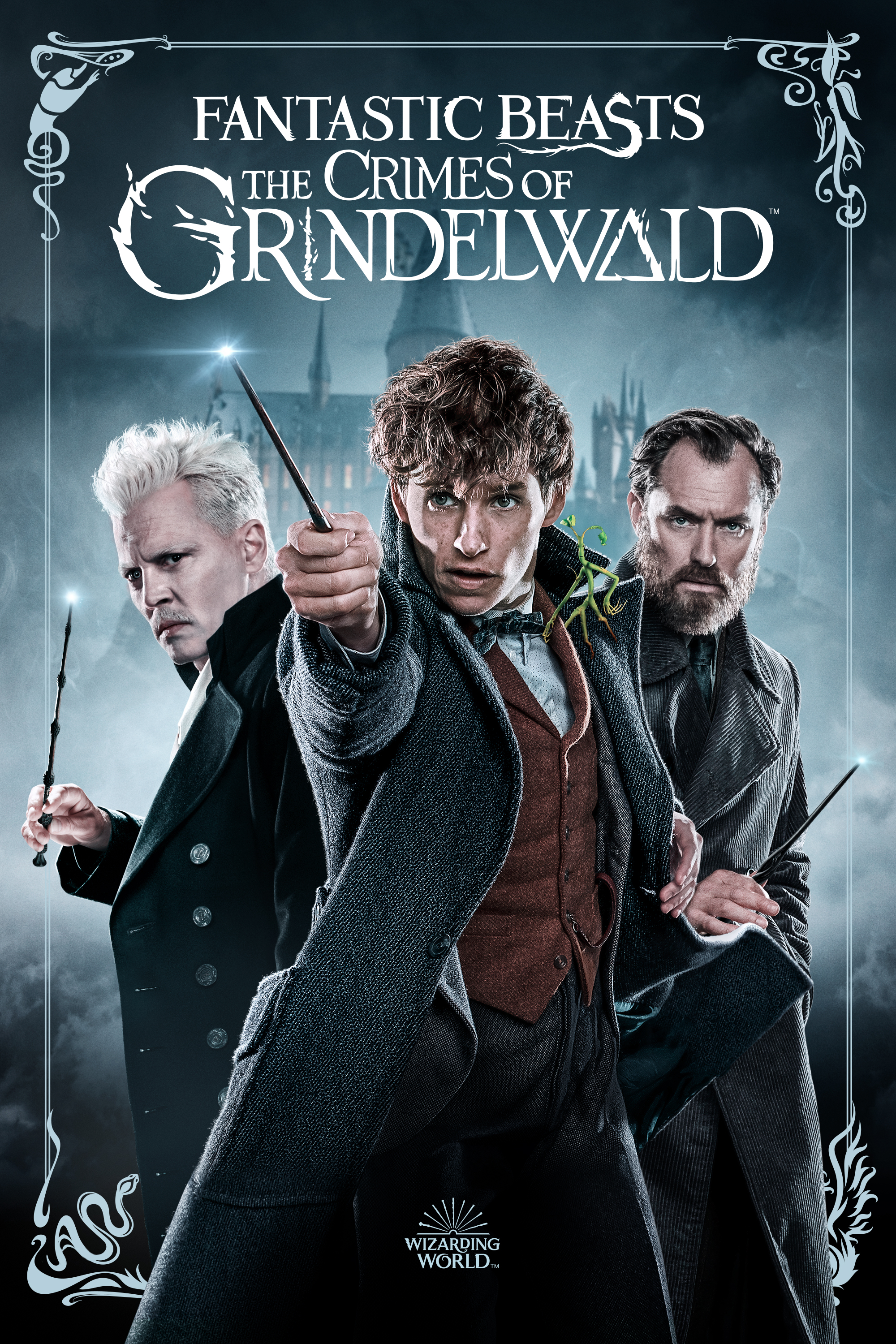 Movie poster image for FANTASTIC BEASTS: THE CRIMES OF GRINDELWALD