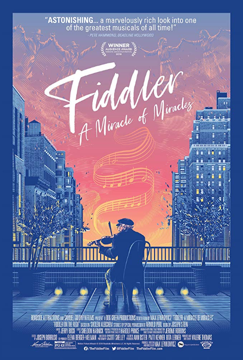 "Movie poster image for ""FIDDLER: A MIRACLE OF MIRACLES"""