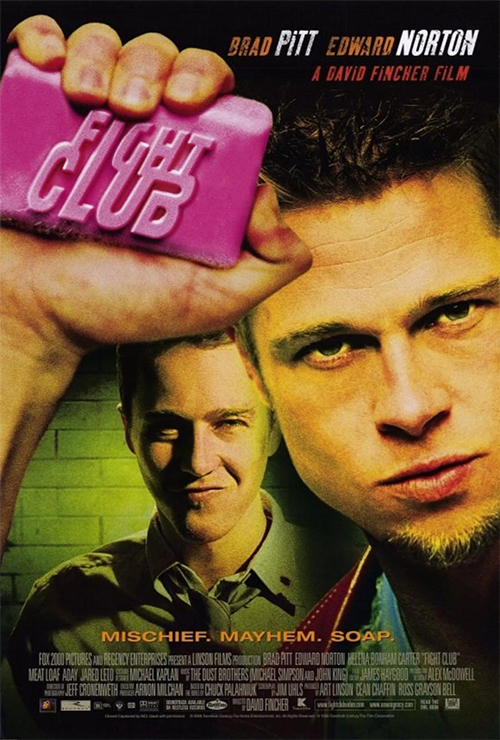 "Movie poster image for ""FIGHT CLUB """