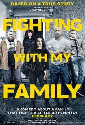 "Movie poster image for ""FIGHTING WITH MY FAMILY"""