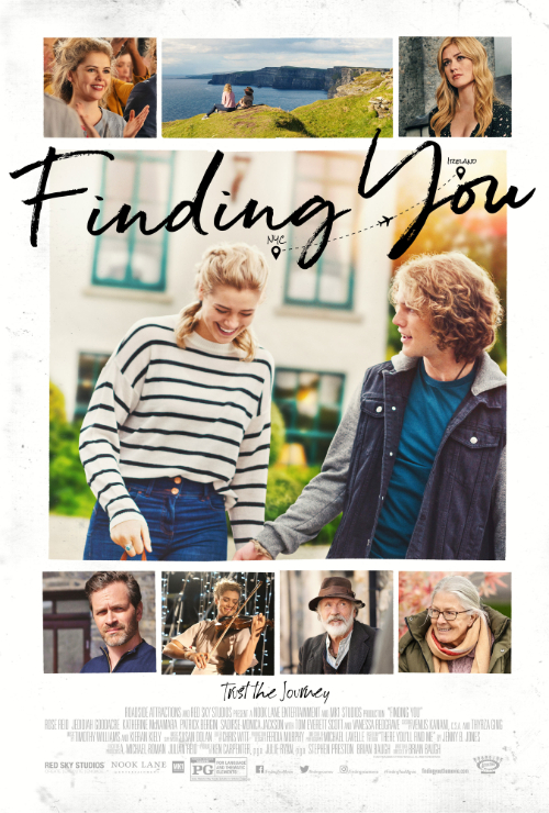 Movie poster image for FINDING YOU