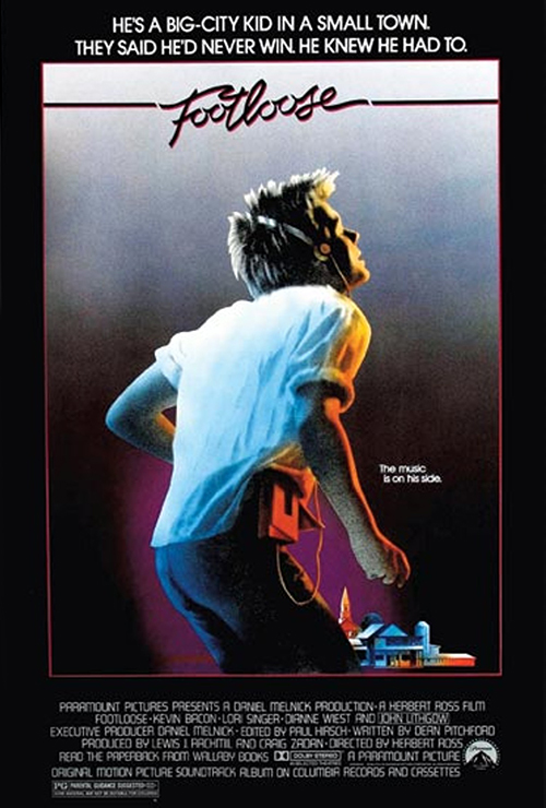 "Movie poster image for ""FOOTLOOSE"""