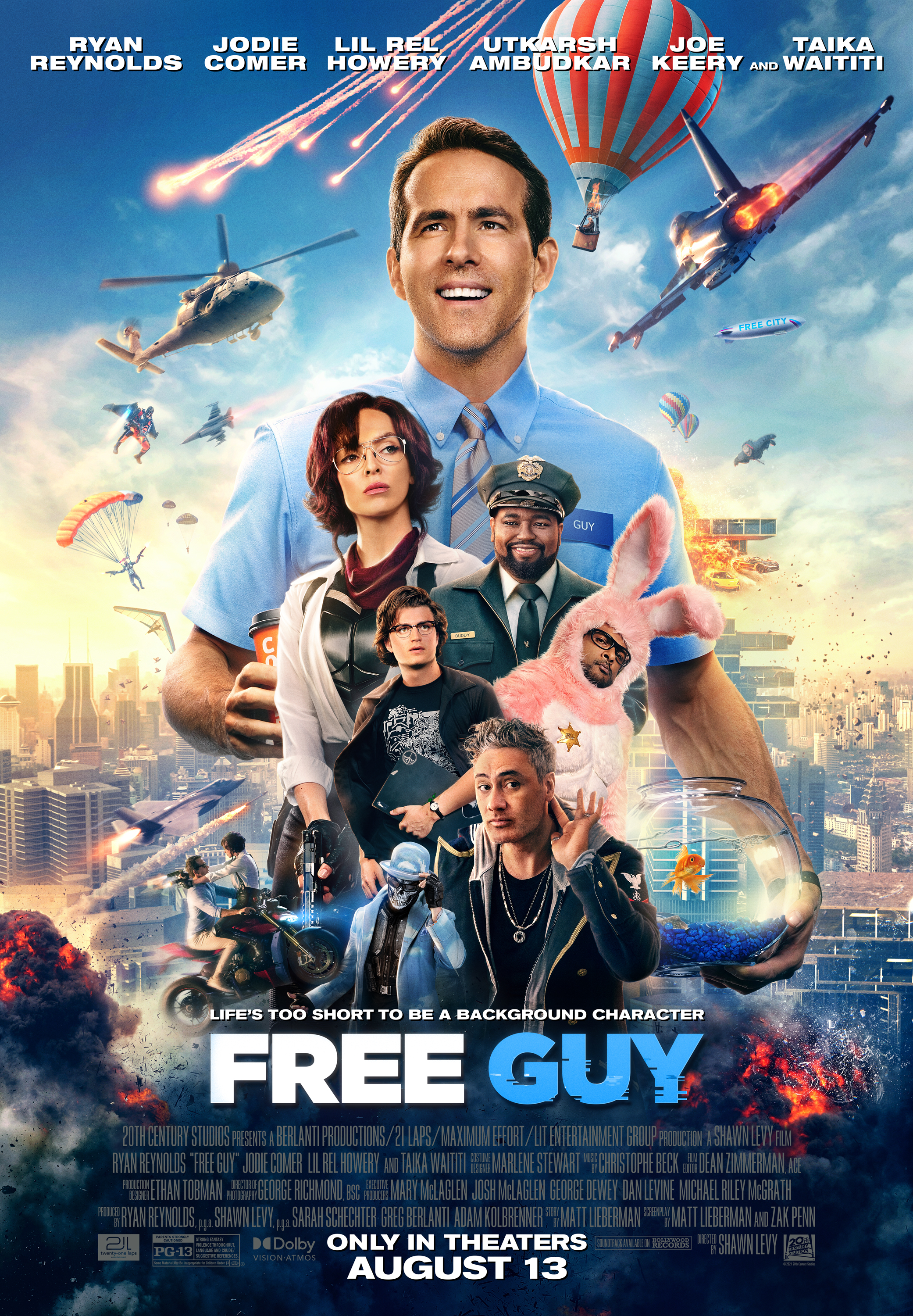 Movie poster image for FREE GUY