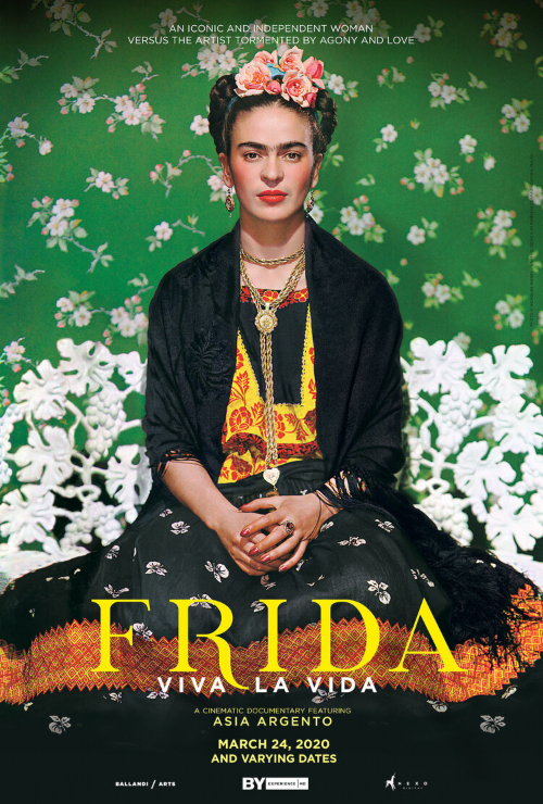 "Movie poster image for ""GREAT ART ON SCREEN: FRIDA VIVA LA VIDA"""