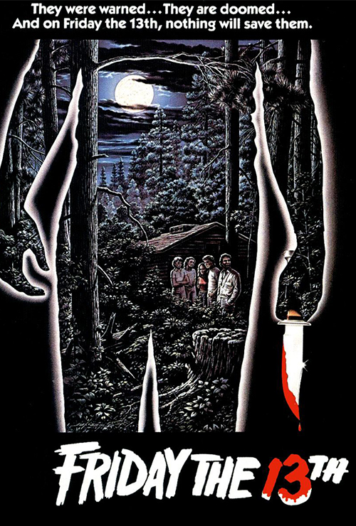 "Movie poster image for ""FRIDAY THE 13TH"""