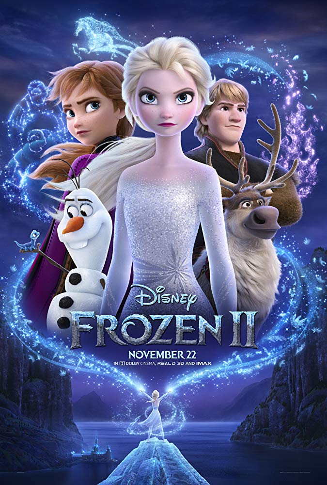 "Movie poster image for ""FROZEN II"""