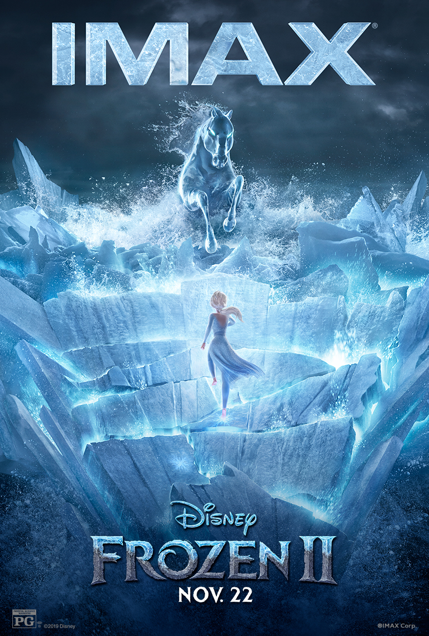 """Movie poster image for """"FROZEN II in IMAX"""""""