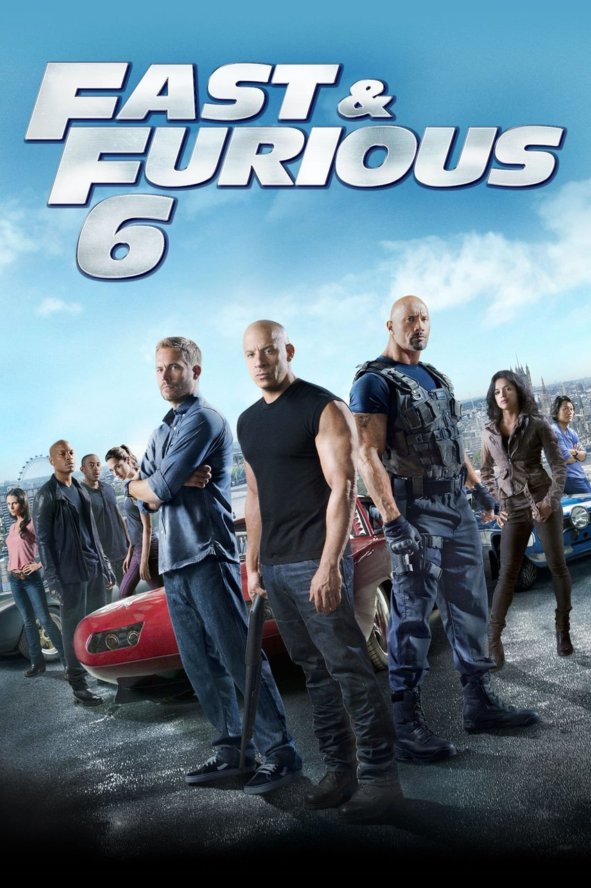 Movie poster image for FAST & FURIOUS 6