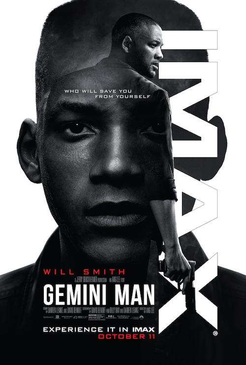"Movie poster image for ""GEMINI MAN in IMAX"""