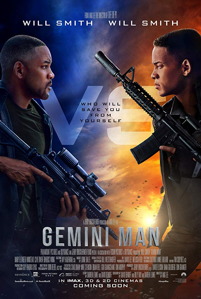 "Movie poster image for ""GEMINI MAN"""