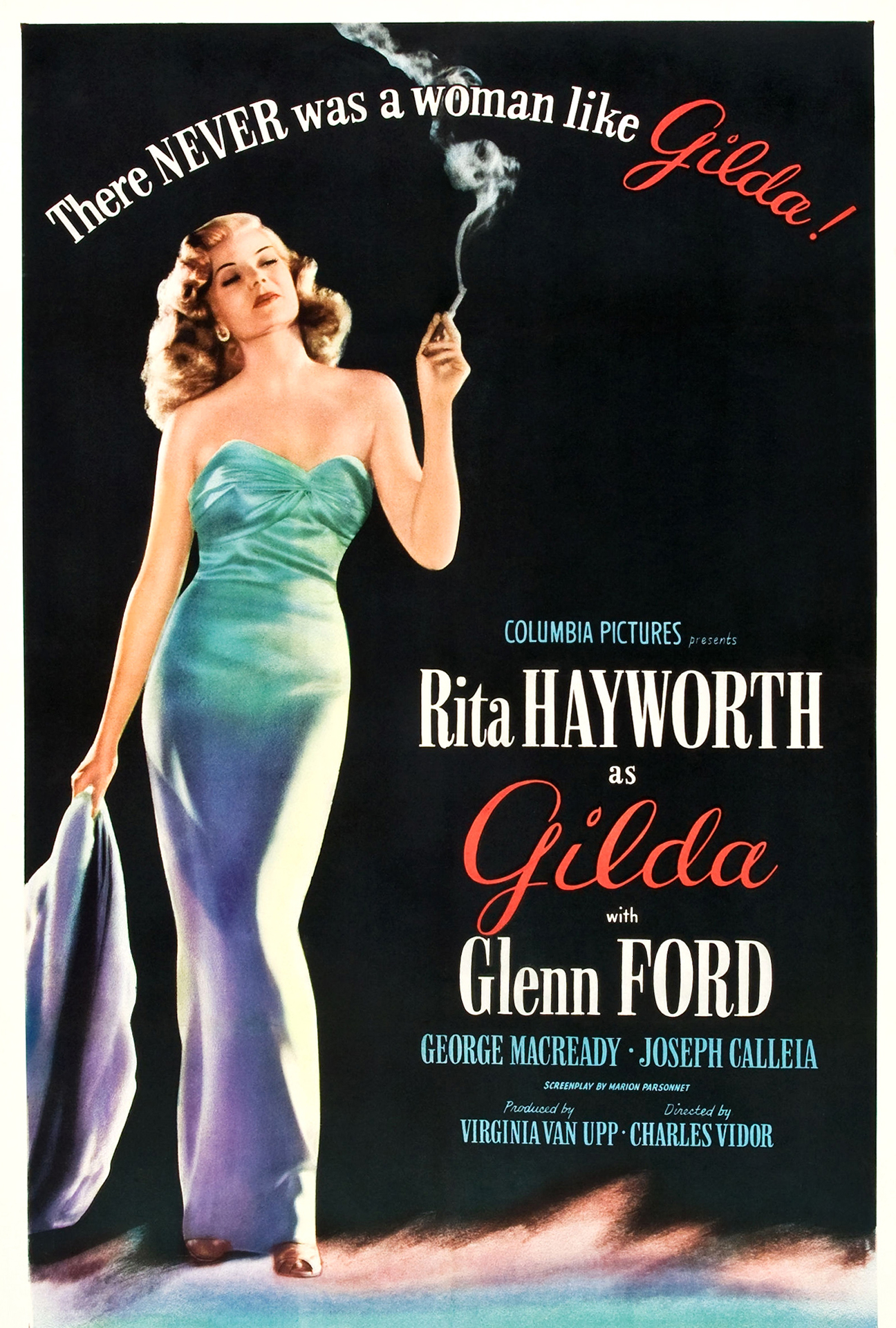 "Movie poster image for ""GILDA"""