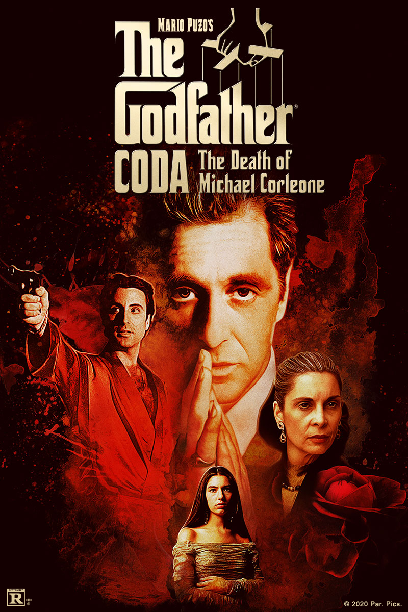 Movie poster image for MARIO PUZO'S THE GODFATHER, CODA: THE DEATH OF MICHAEL CORLEONE