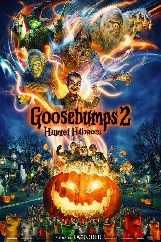 "Movie poster image for ""GOOSEBUMPS 2: HAUNTED HALLOWEEN"""