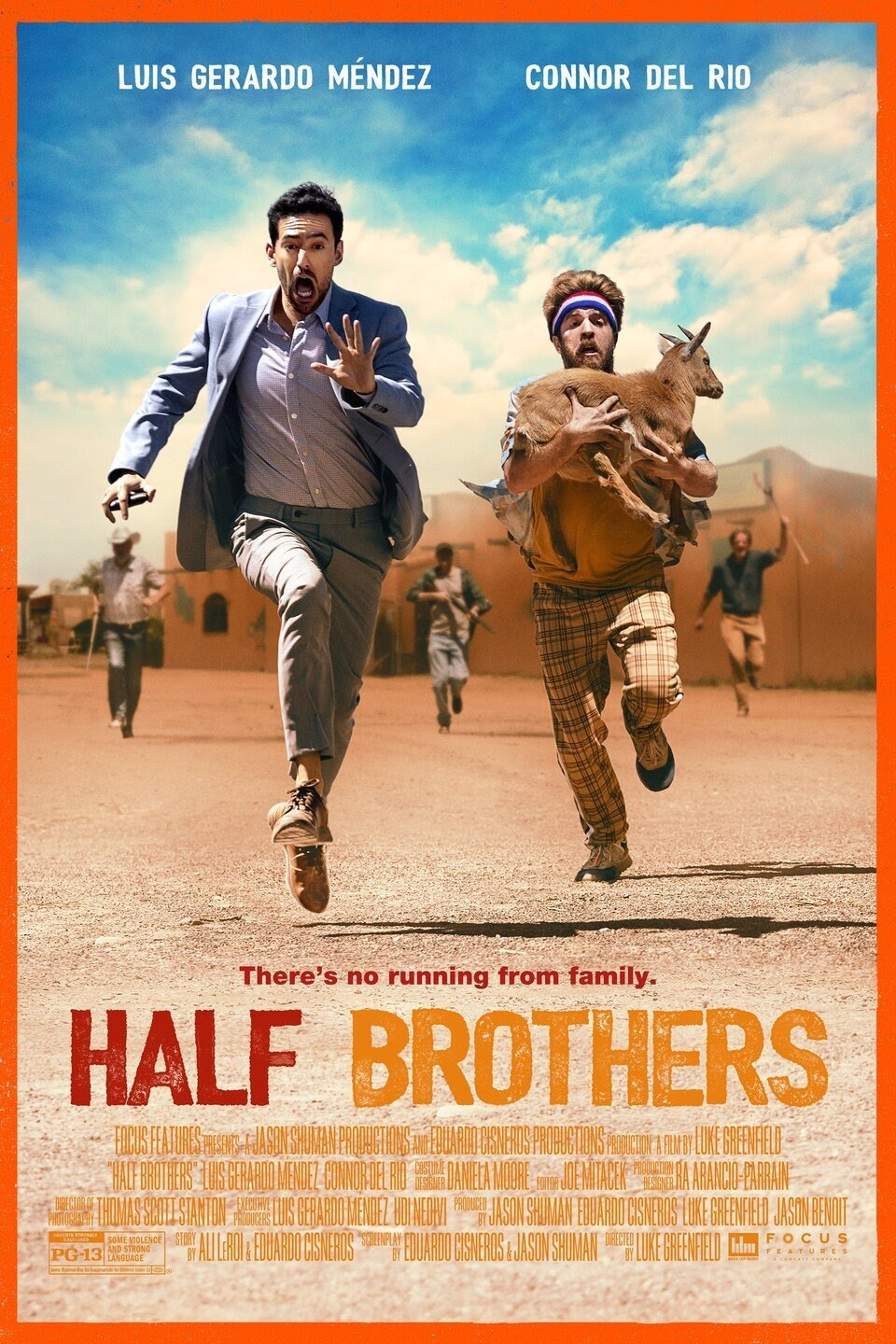 Movie poster image for HALF BROTHERS