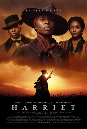 "Movie poster image for ""HARRIET"""