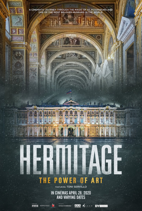 "Movie poster image for ""GREAT ART ON SCREEN: HERMITAGE. THE POWER OF ART"""