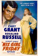 Poster of HIS GIRL FRIDAY