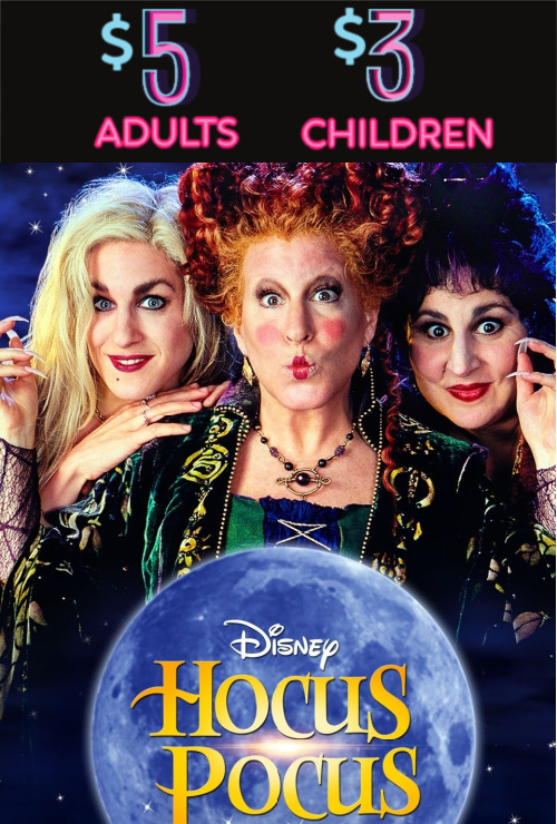 Movie poster image for HOCUS POCUS