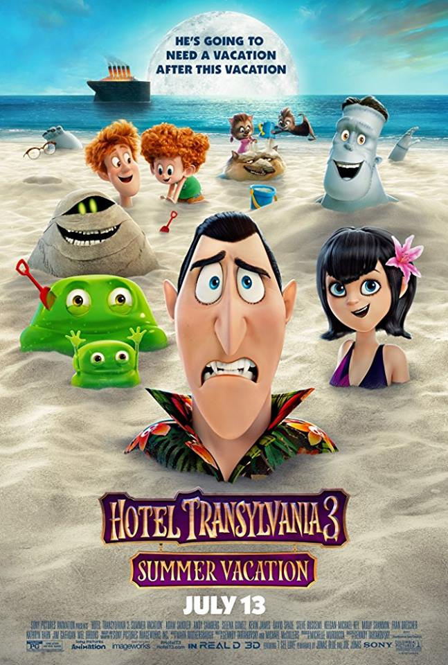 "Movie poster image for ""HOTEL TRANSYLVANIA 3: SUMMER VACATION"""