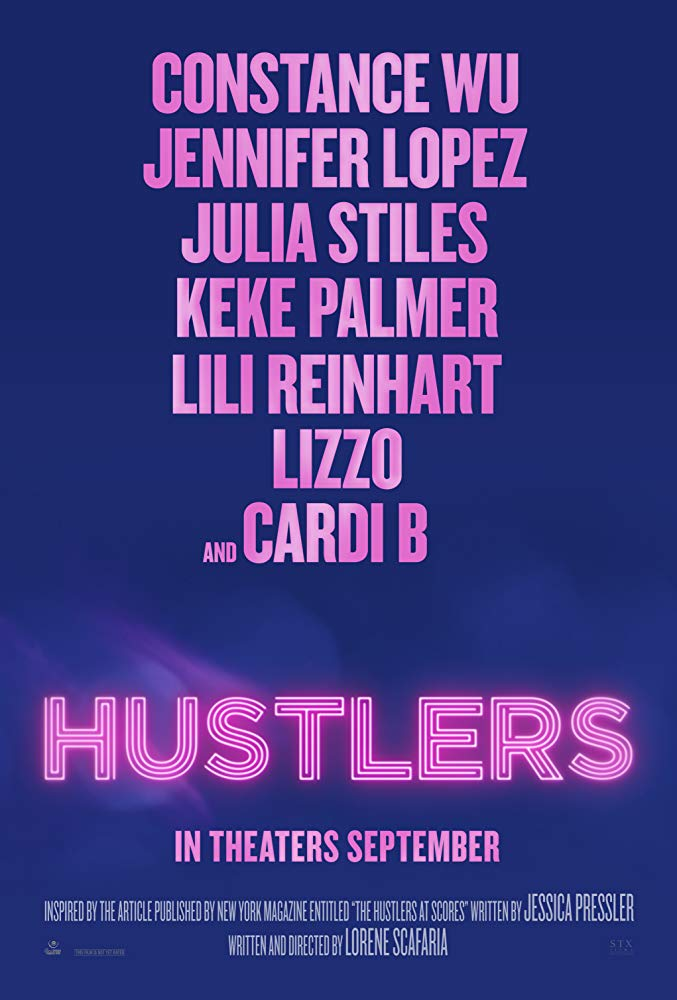 "Movie poster image for ""HUSTLERS"""