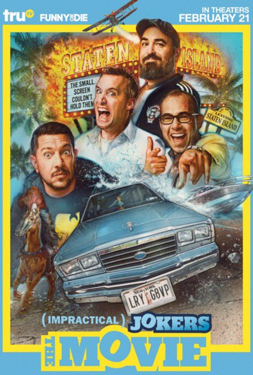 Movie poster image for 'IMPRACTICAL JOKERS: THE MOVIE'