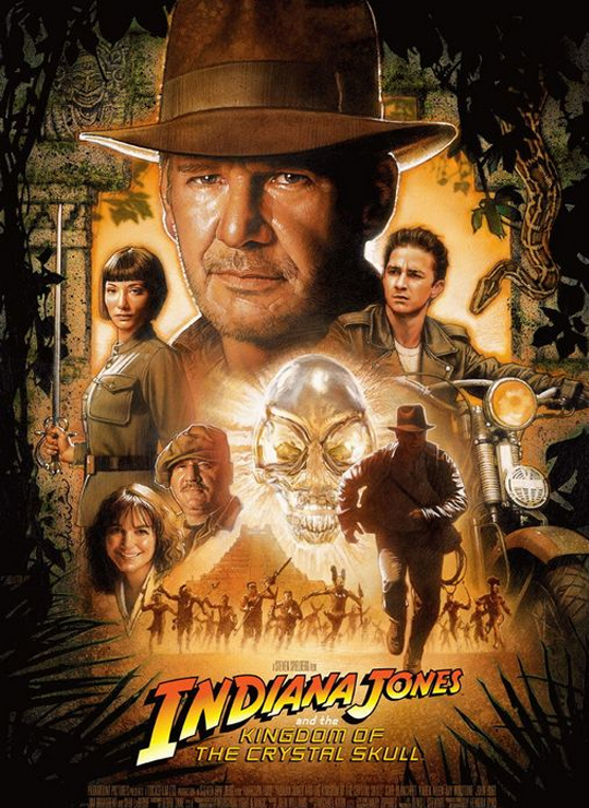 Movie poster image for INDIANA JONES AND THE KINGDOM OF THE CRYSTAL SKULL
