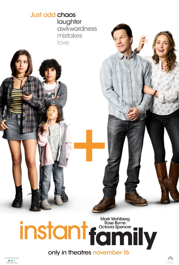 "Movie poster image for ""INSTANT FAMILY"""