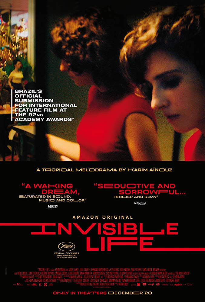 "Movie poster image for ""INVISIBLE LIFE"""