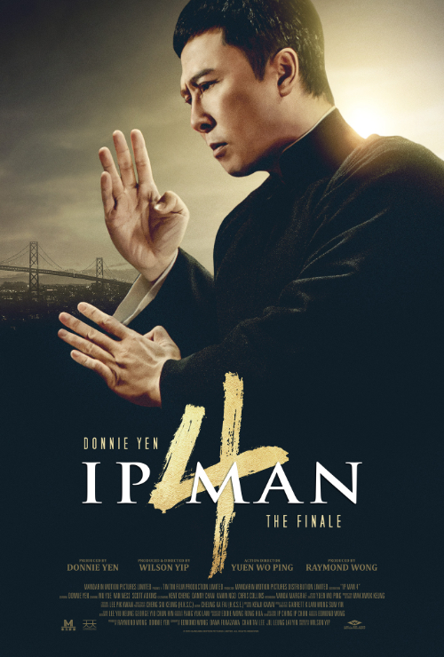 "Movie poster image for ""IP MAN 4: THE FINALE"""