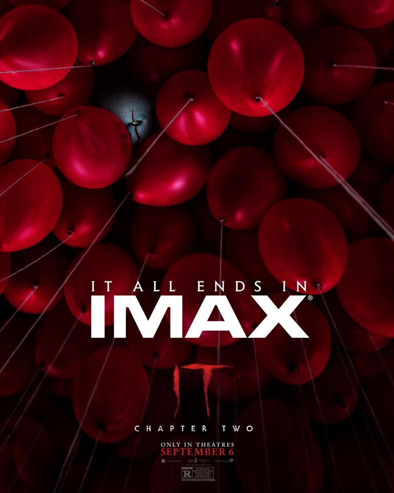 """Movie poster image for """"IT CHAPTER TWO in IMAX"""""""