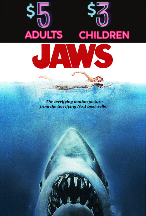 Movie poster image for JAWS