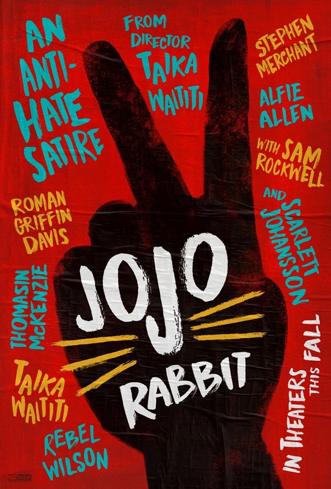 """Movie poster image for """"JOJO RABBIT"""""""