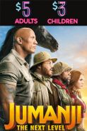 Movie poster image for JUMANJI: THE NEXT LEVEL