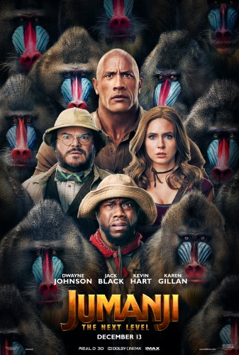 """Movie poster image for """"JUMANJI: THE NEXT LEVEL in IMAX"""""""