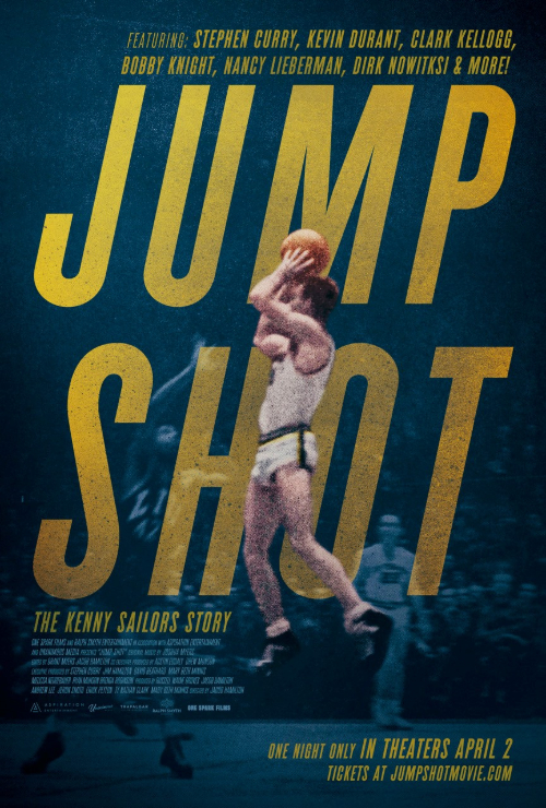 Movie poster image for 'JUMP SHOT: THE KENNY SAILORS STORY'