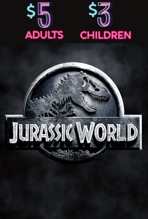 Movie poster image for JURASSIC WORLD