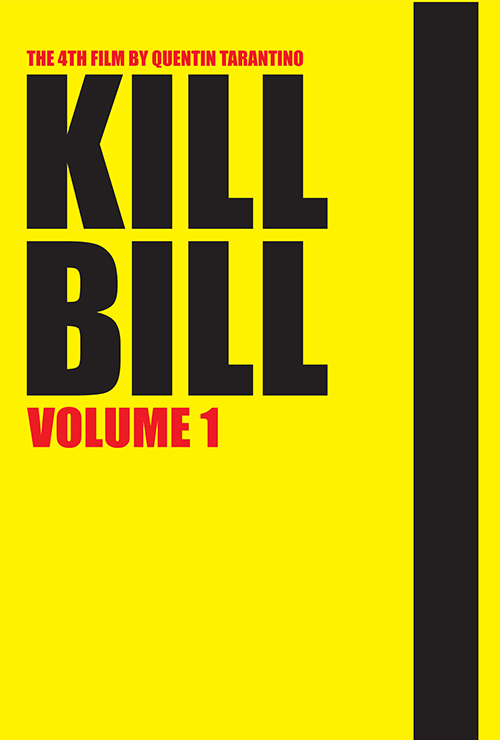 "Movie poster image for ""KILL BILL VOL.1"""