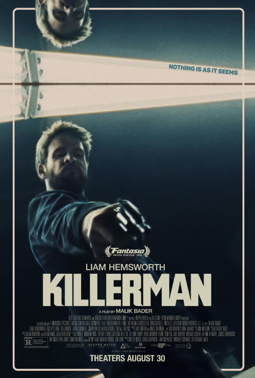 "Movie poster image for ""KILLERMAN"""