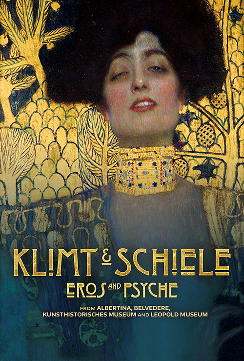 """Movie poster image for """"GREAT ART ON SCREEN: KLIMT & SCHIELE:  EROS AND PSYCHE"""""""