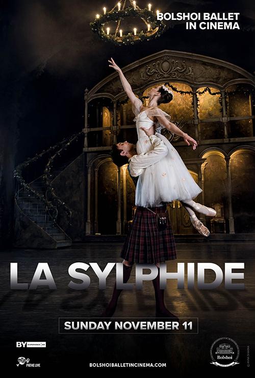 "Movie poster image for ""BOLSHOI BALLET: LA SYLPHIDE"""